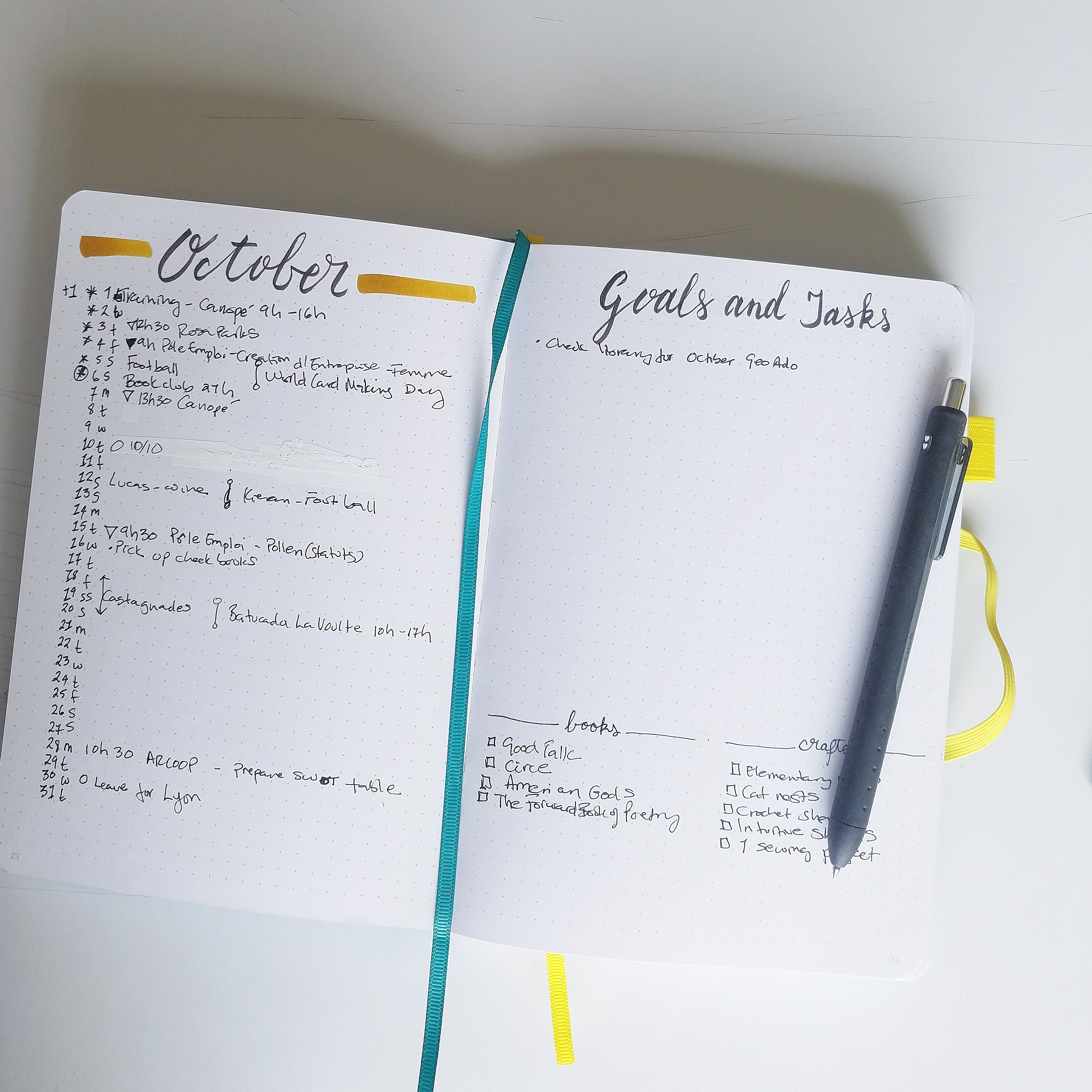 My Favourite Bullet Journal Pages