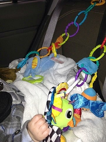 Toys In Car Baby