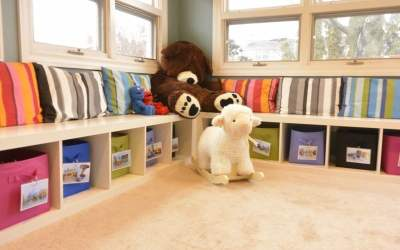 Getting Organized: Cleaning Up The Play Room