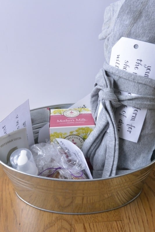 A Care Package For The New Mama