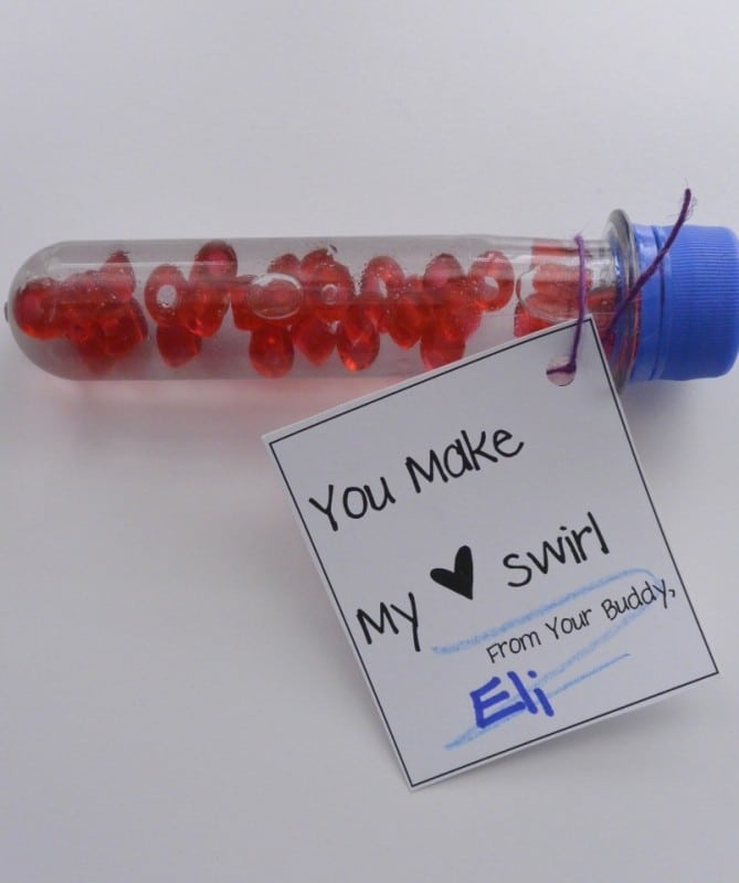you make my heart swirl tag and craft