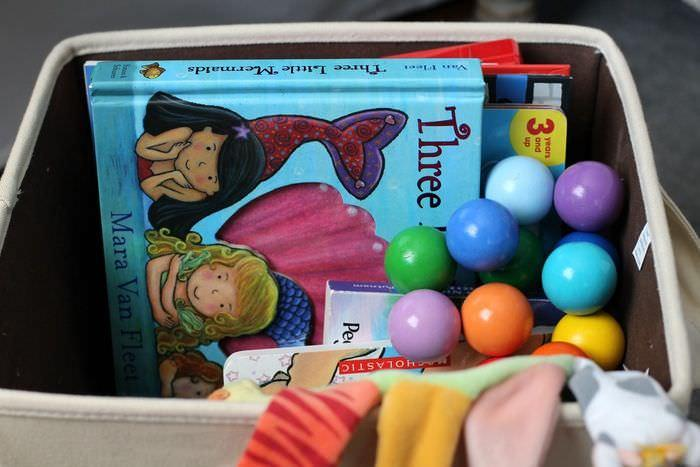 Organizing Toys Around The House - Bedroom Toy Bin