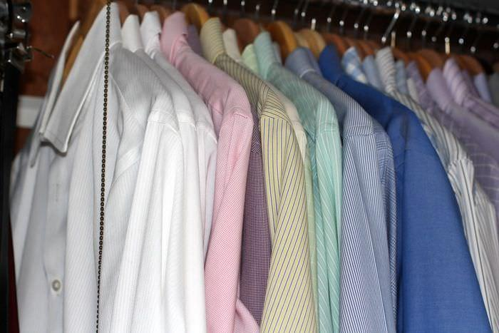 Spring Clean Up Challenge Week One - Mens Hanging Clothes
