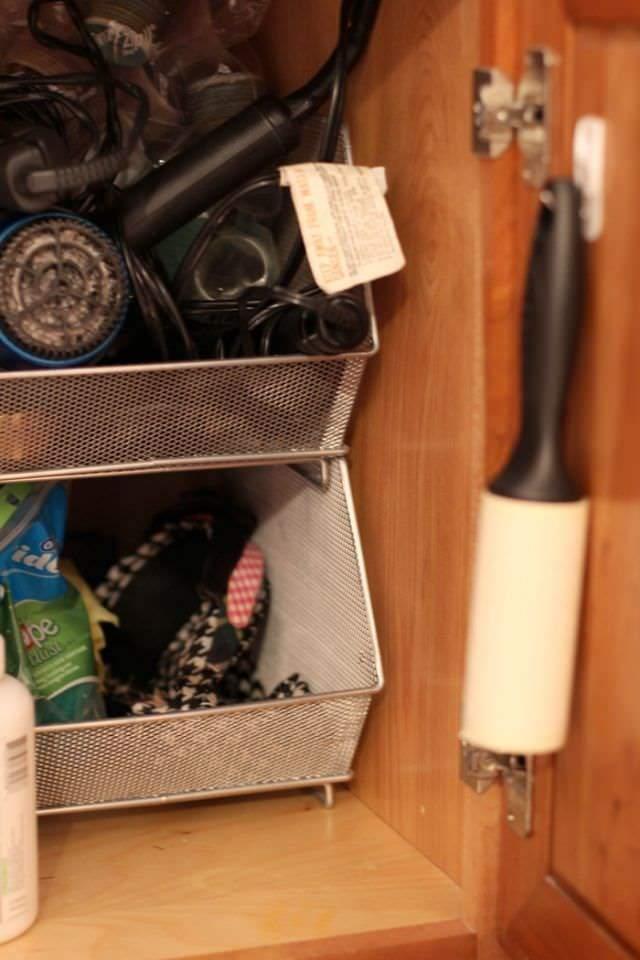 Spring Clean Up Challenge Week Four - Mesh Stacking Storage