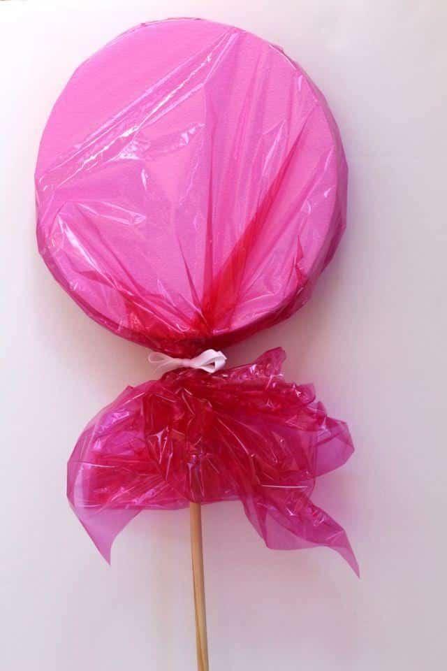 Creating Giant Lollipops Tutorial - Pink Giant Lollipop