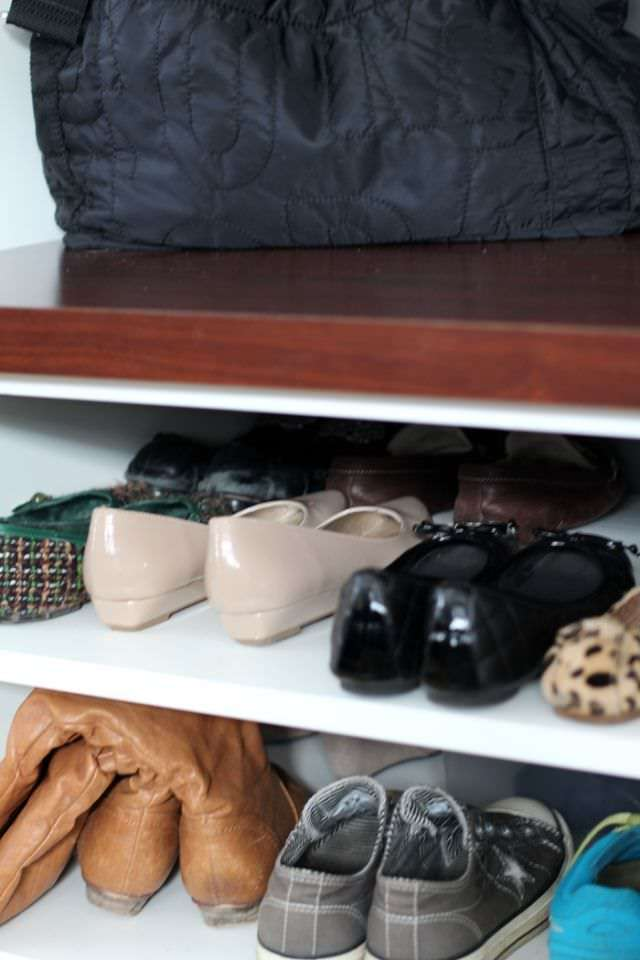 Getting The Mudroom Organized - Shoes