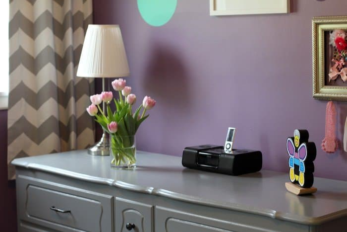 Toddler Girls' Room Tour: Purple, Teal, and Grey