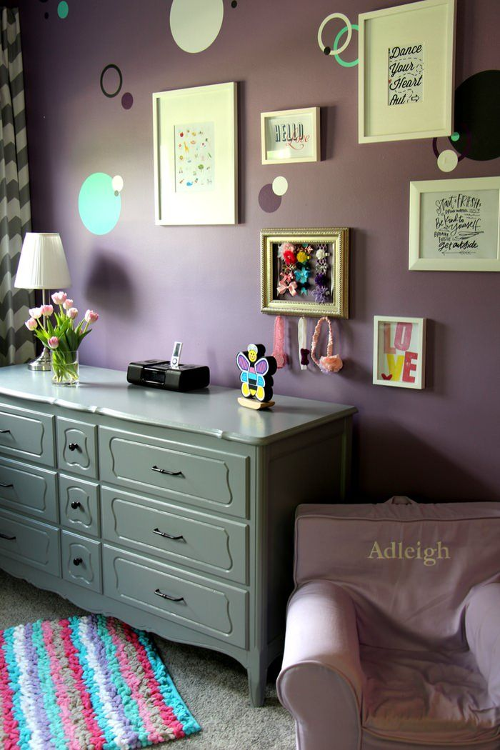 Gallery Wall and Dresser
