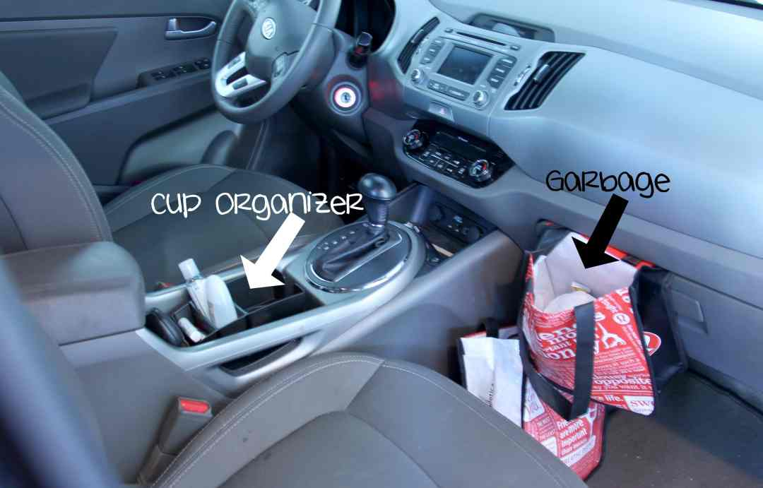 Keeping Your Car Organized With Kids - Inside Car