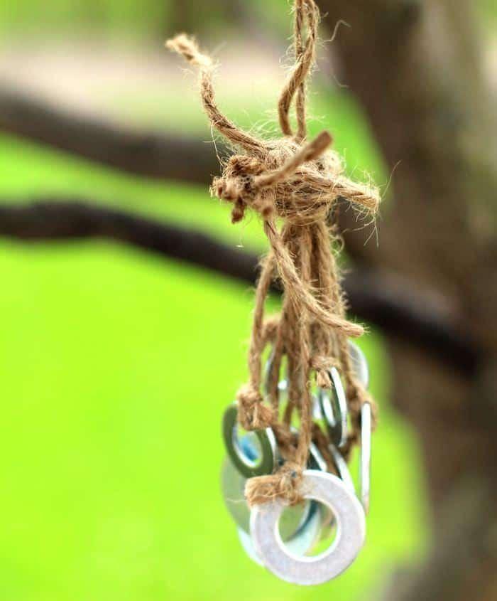 Terra Cotta Potter Wind Chime Tutorial - Knot