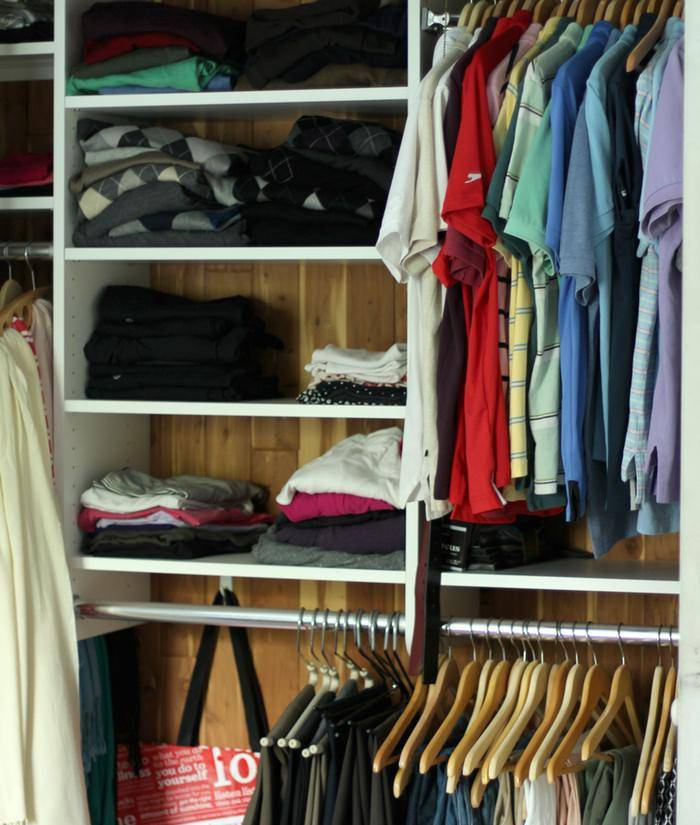 Organizing Our Master Closet
