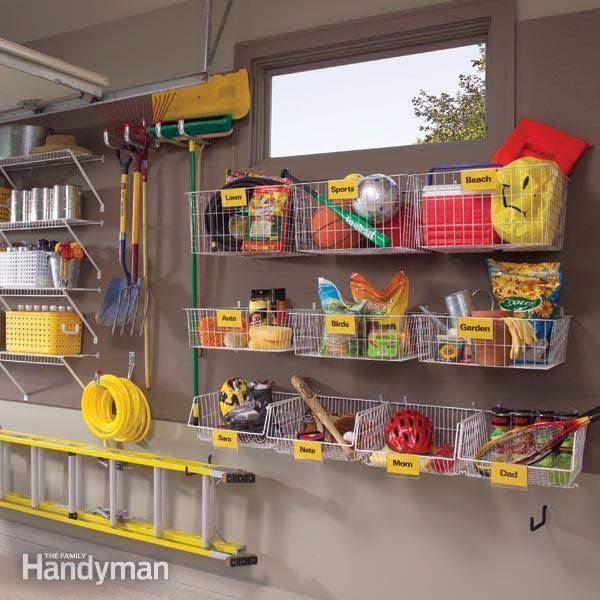 Organizing Outside Toys - Family Handyman