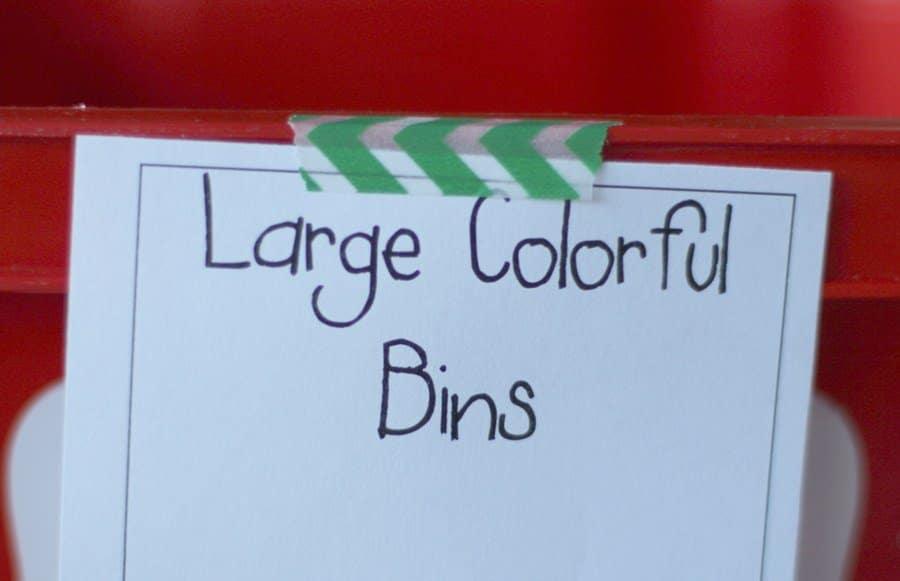 How To Organize For A Garage Sale - Washi Tape Garage Sale