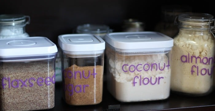Organizing the Kitchen and Lunch Prep Ideas - Baking