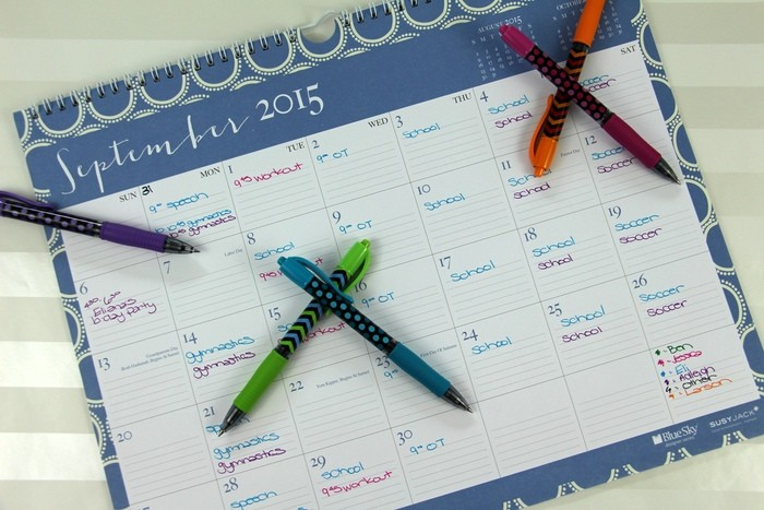 Setting Up Schedules And Routines - Calendar