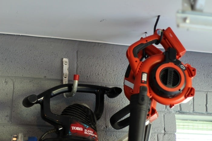 Organizing The Garage With Easy Storage Solutions - Ceiling Hooks Garage