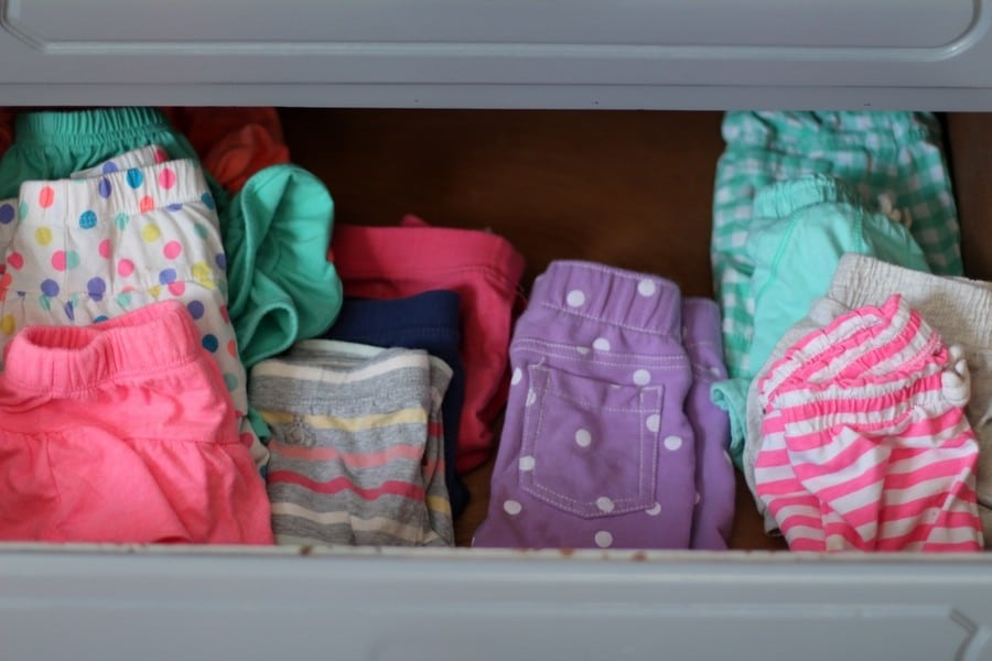 My Laundry Routine - Girls Drawers