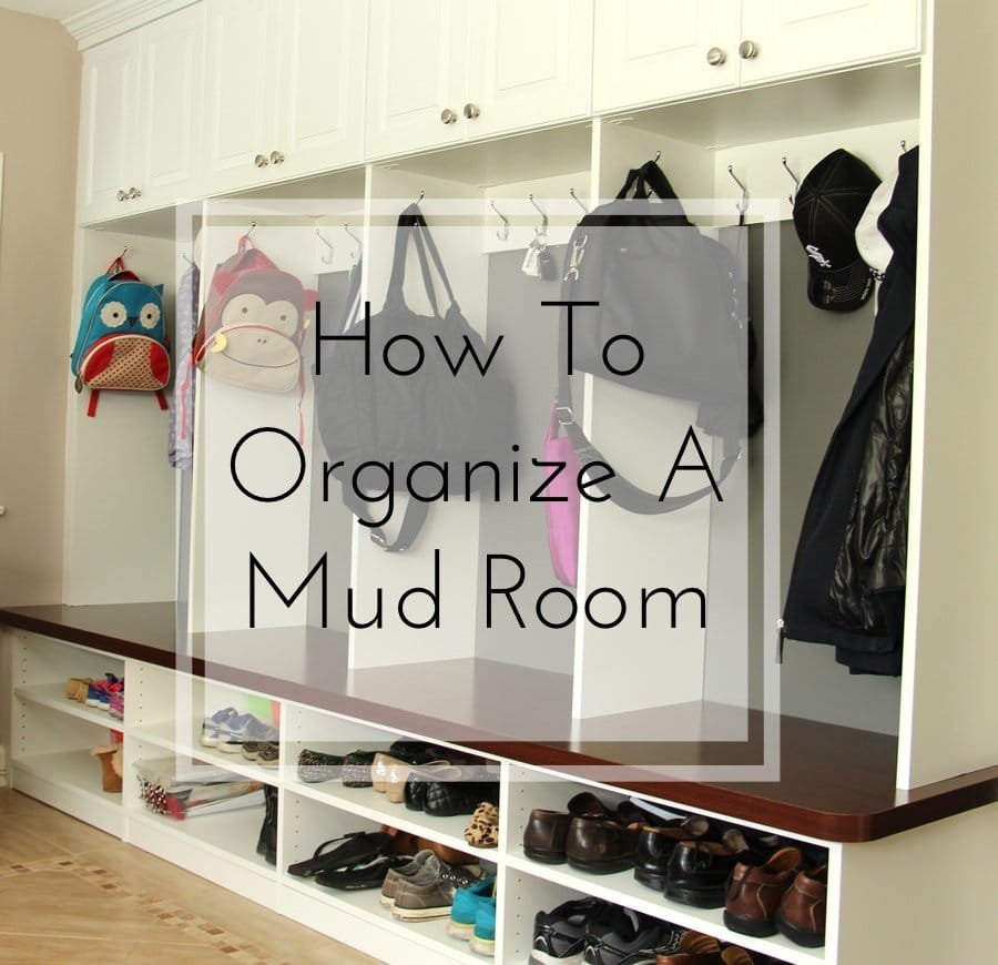 How To Organize A Mudroom