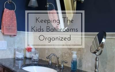 Keeping the Kids' Bathroom Organized