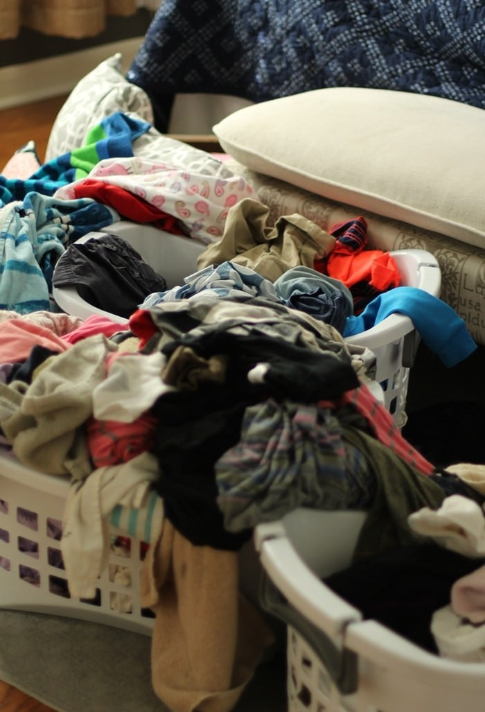 My Laundry Routine - Messy Laundry