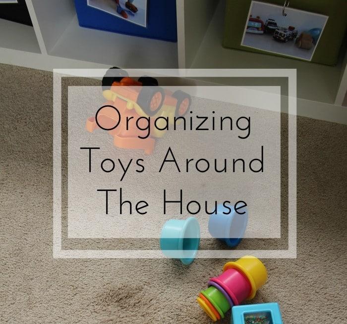 Back To School Challenge - Organizing Toys Around House