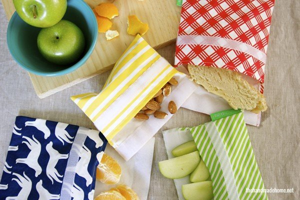 Organizing the Kitchen and Lunch Prep Ideas - Snack Bags