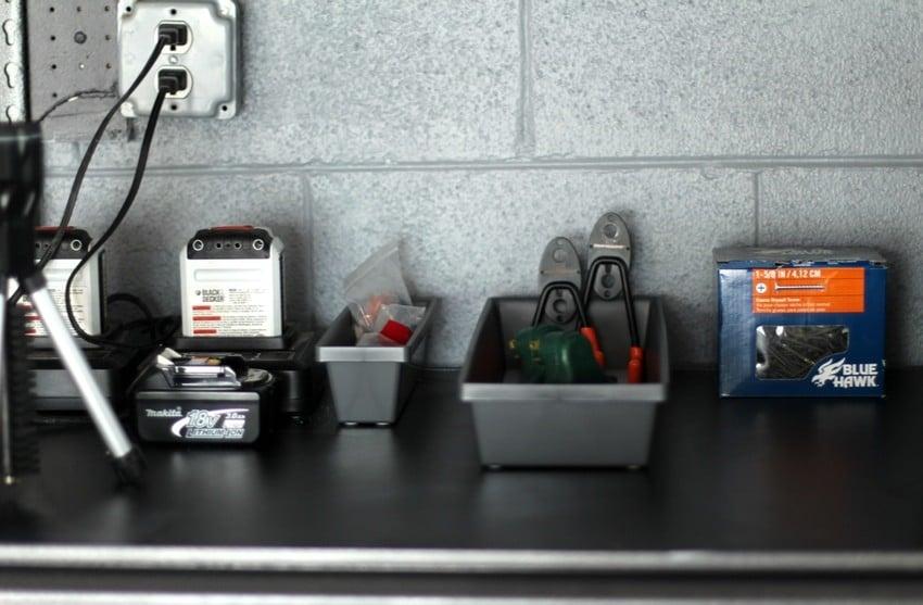 Organizing the Garage - Tool Shelf