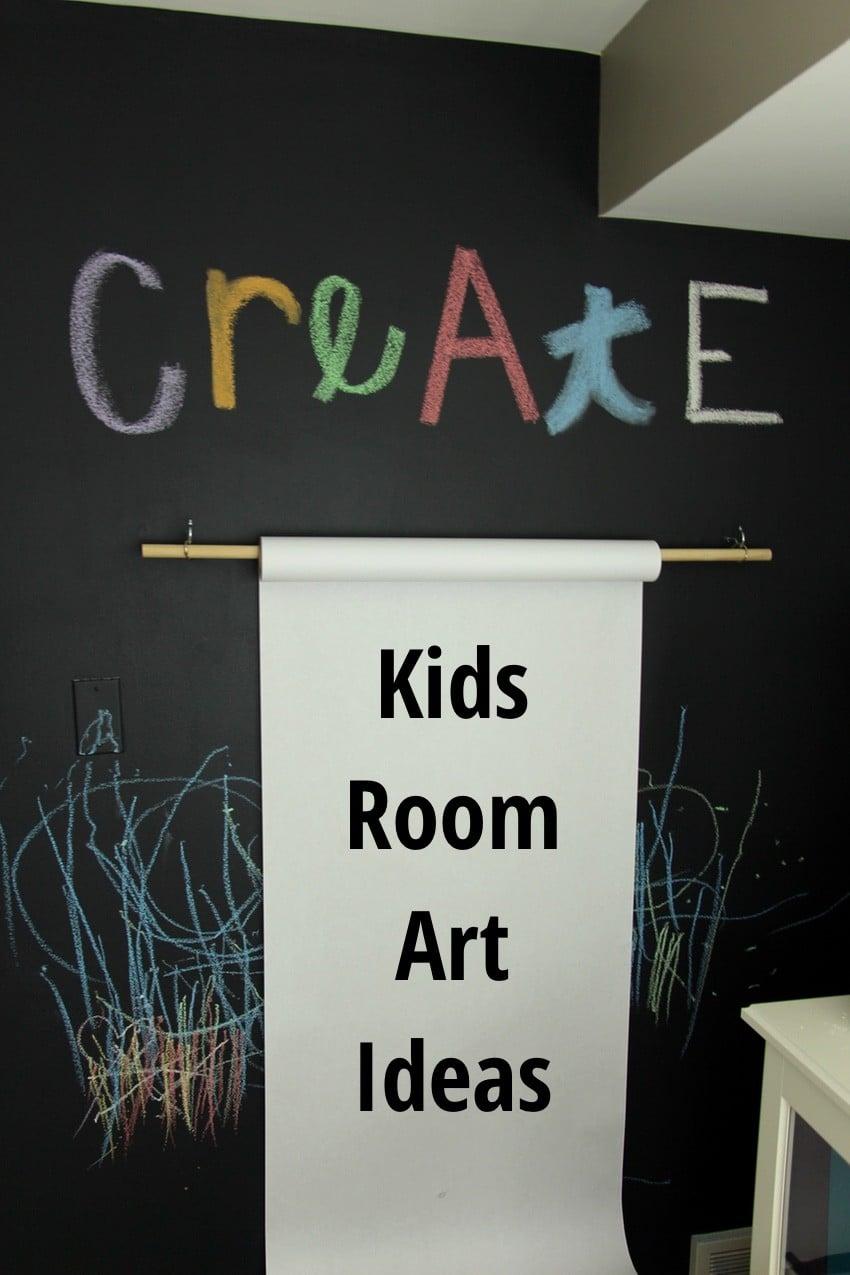 Kids Room Art Ideas
