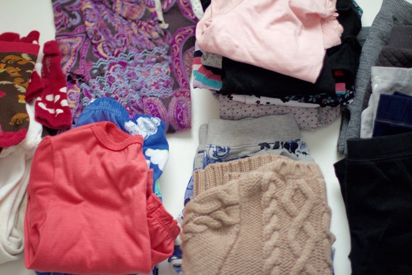 Packing Sorting Kids Clothing
