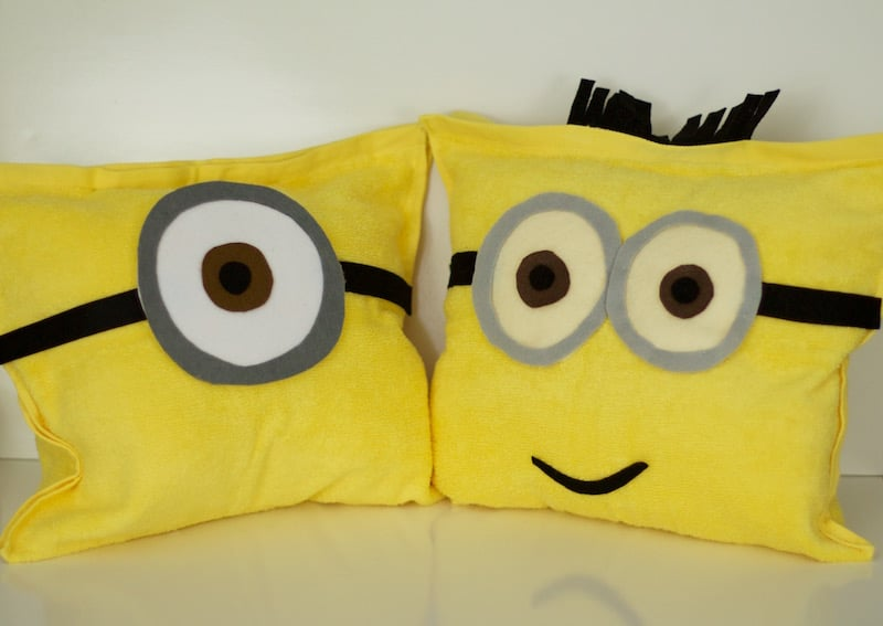 Complete Minion Pillow