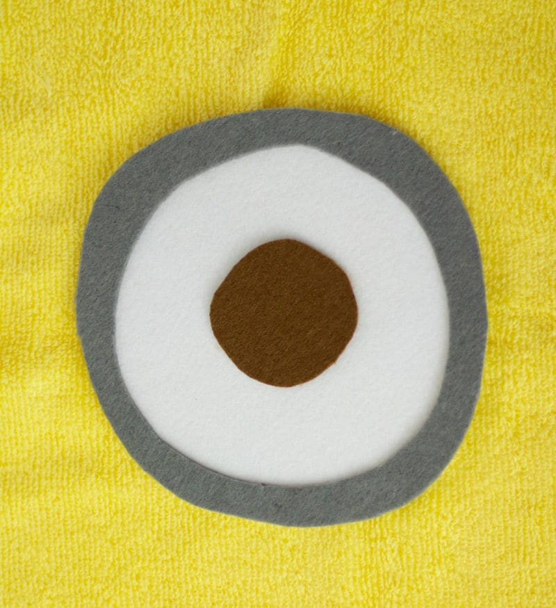 Gray, White and Brown Eye