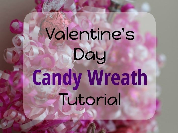 Valentine's Day Candy Wreath