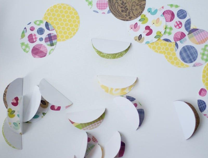 Folding Paper Circles