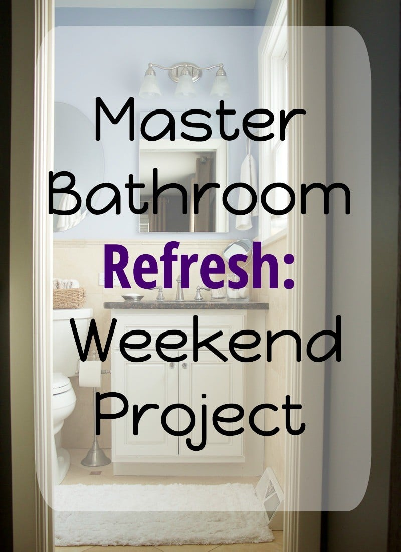 Master Bathroom Weekend Project