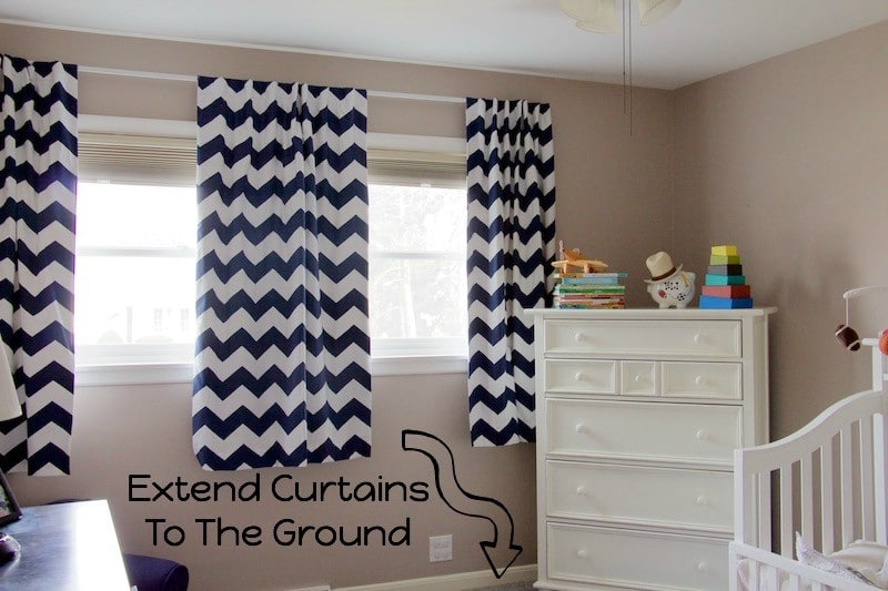 Preschool Bedroom Curtains