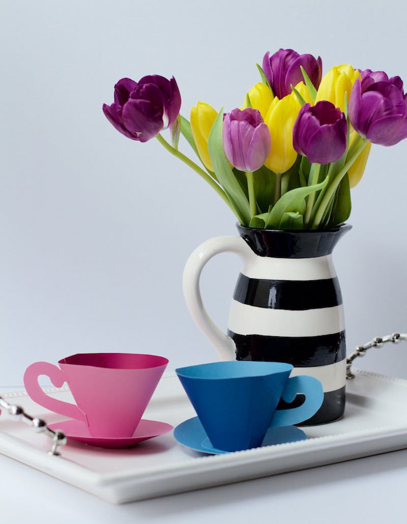 Tea Cups And Tulips