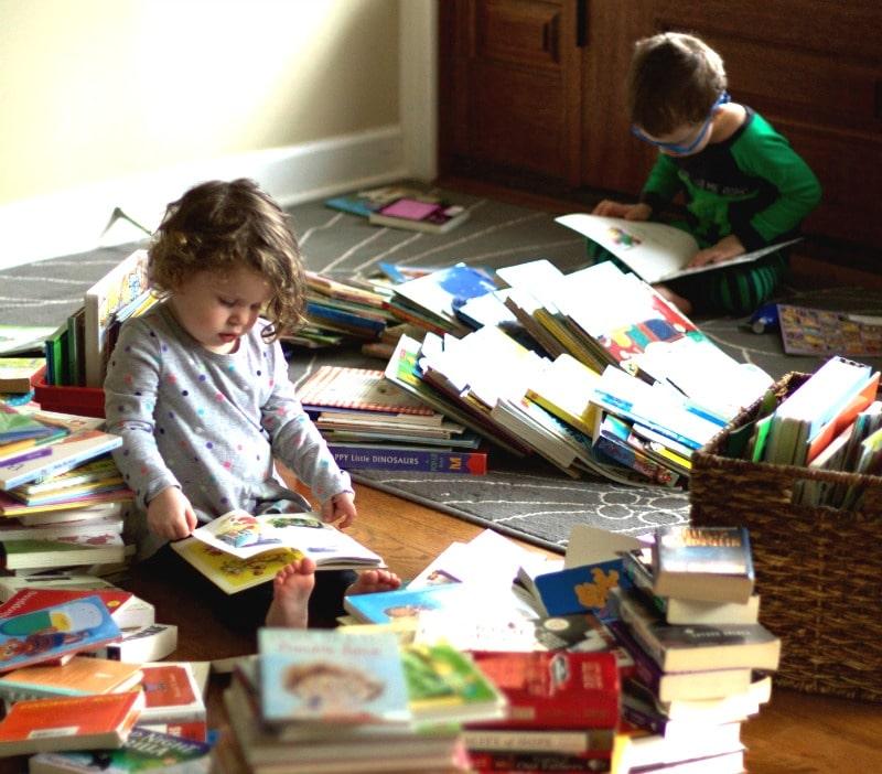 Kids Reading Books
