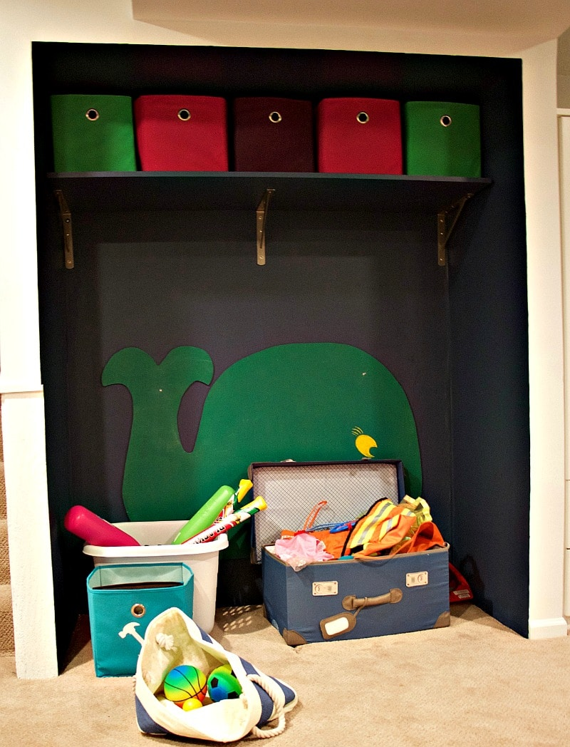 Play Nook With Shelf