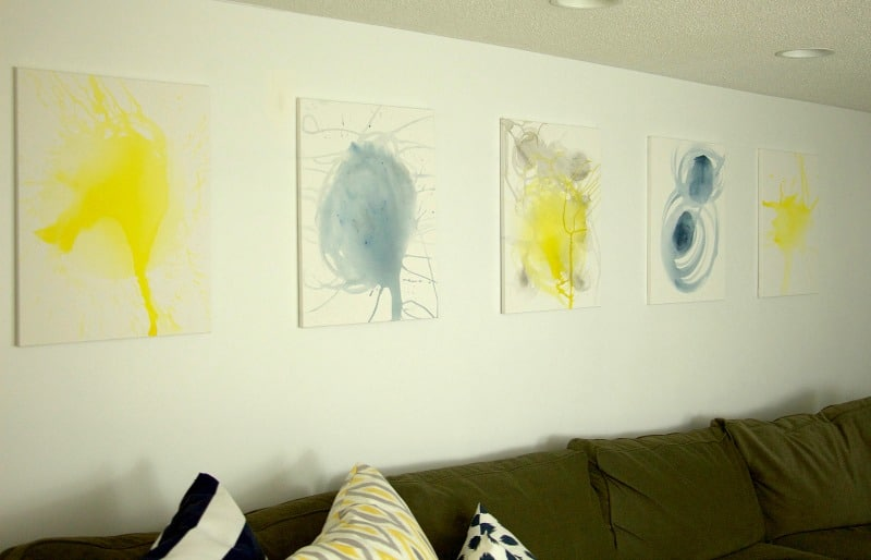 Canvas and Couch