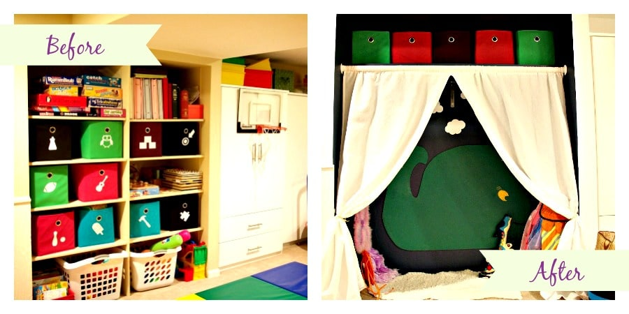 Play Nook Before and After