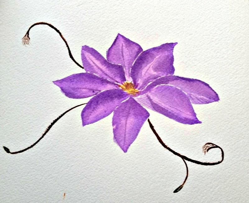 Easy Watercolor Tutorial