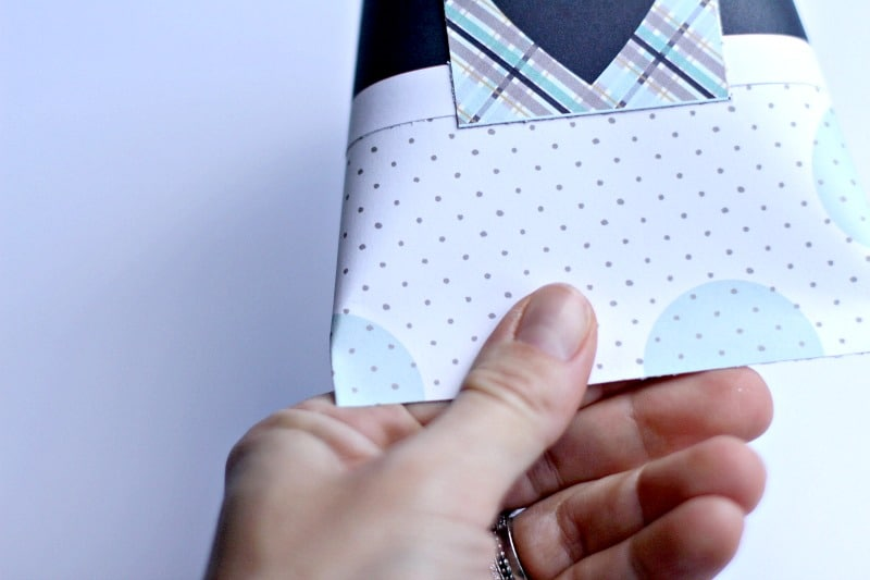 Folding Bottom Of Gift Box