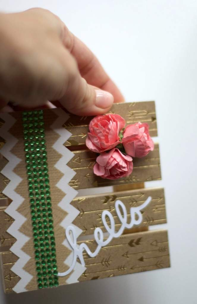 Add Flowers and Rhinestones