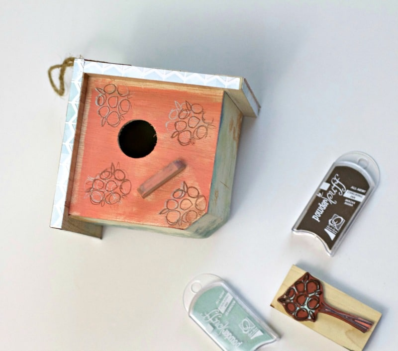 stamps-on-birdhouse