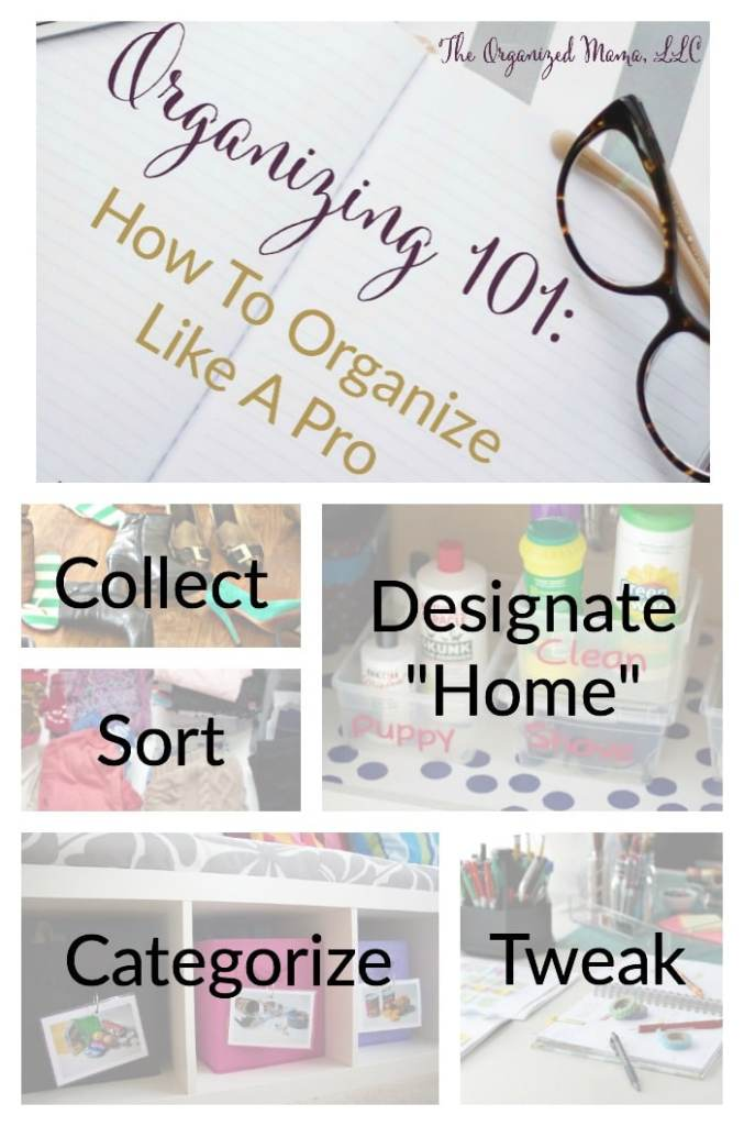 Learn how to organize like a professional organizer with these 5 steps