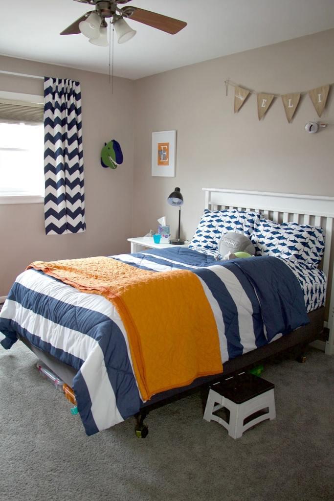 organizing a preschool boys bedroom diy