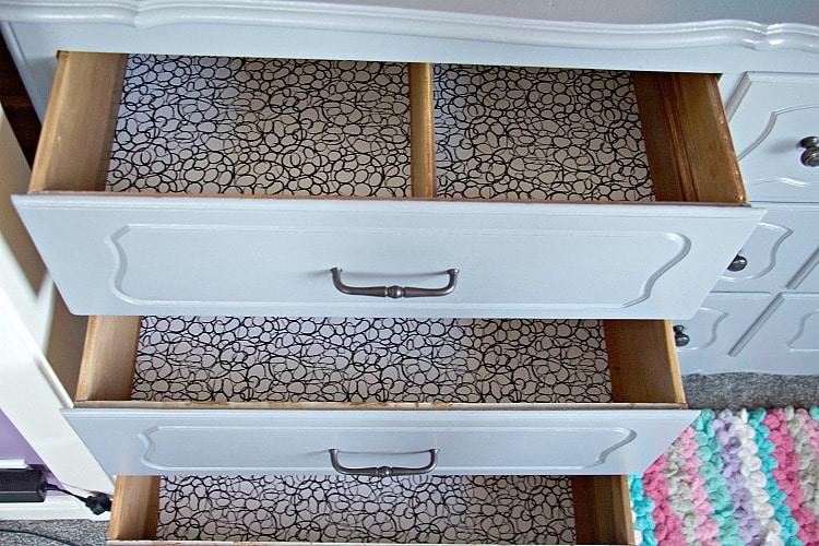 lining drawers kids bedroom