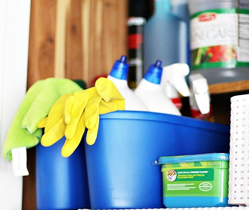 Where Do You Store Cleaning Supplies?