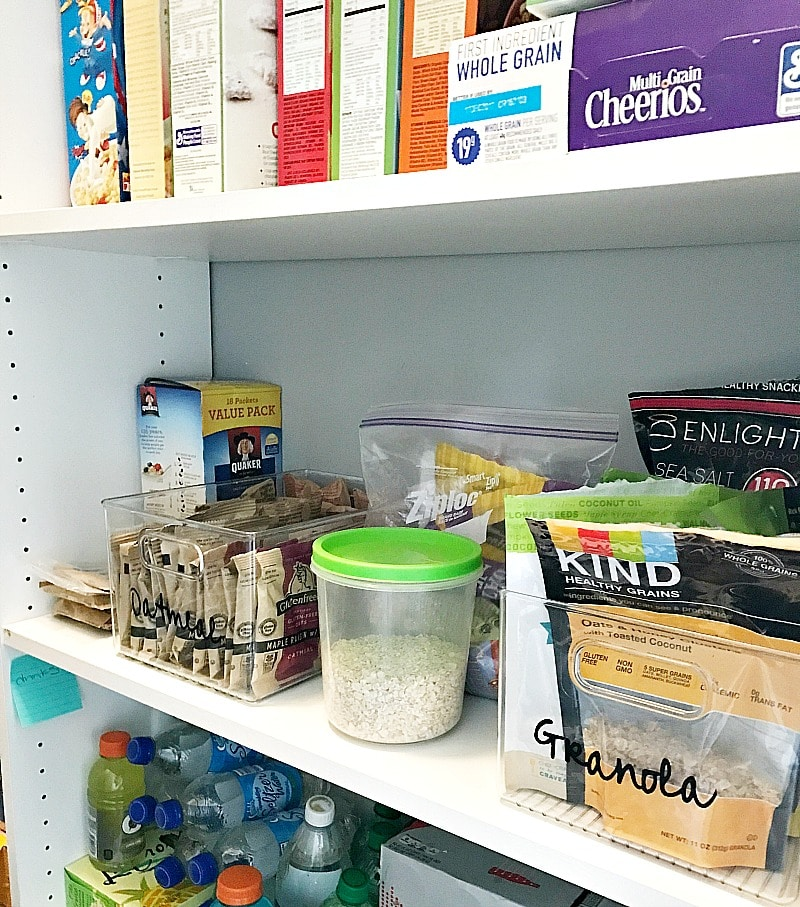 pantry organizing ideas