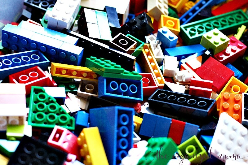 The Lazy Mama's Guide To Organizing Legos